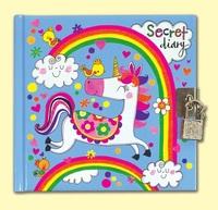 Rachel Ellen: Lockable Diary - Unicorn