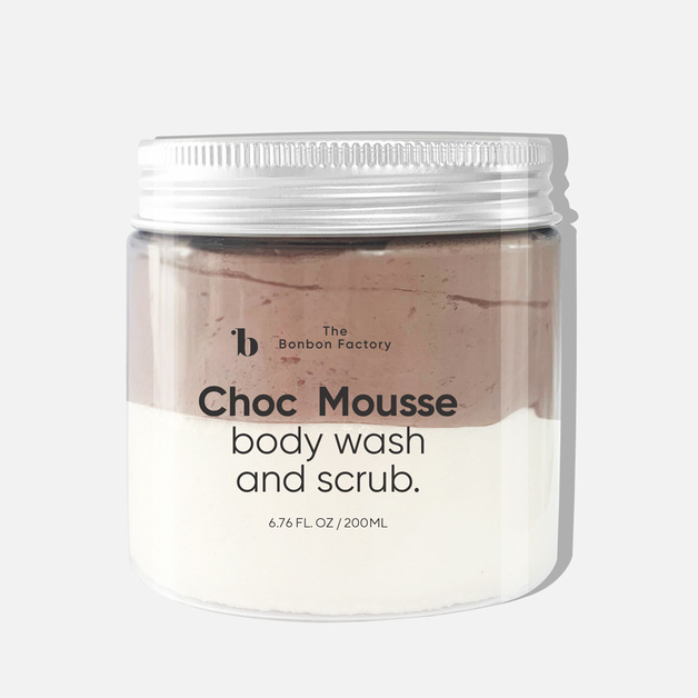 The Bonbon Factory - Choc Mousse Body Wash + Scrub
