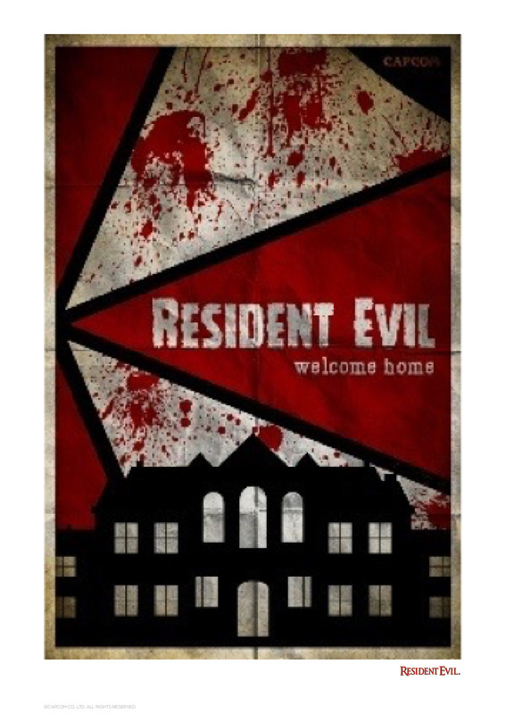 Resident Evil - Premium Art Print - Welcome Home