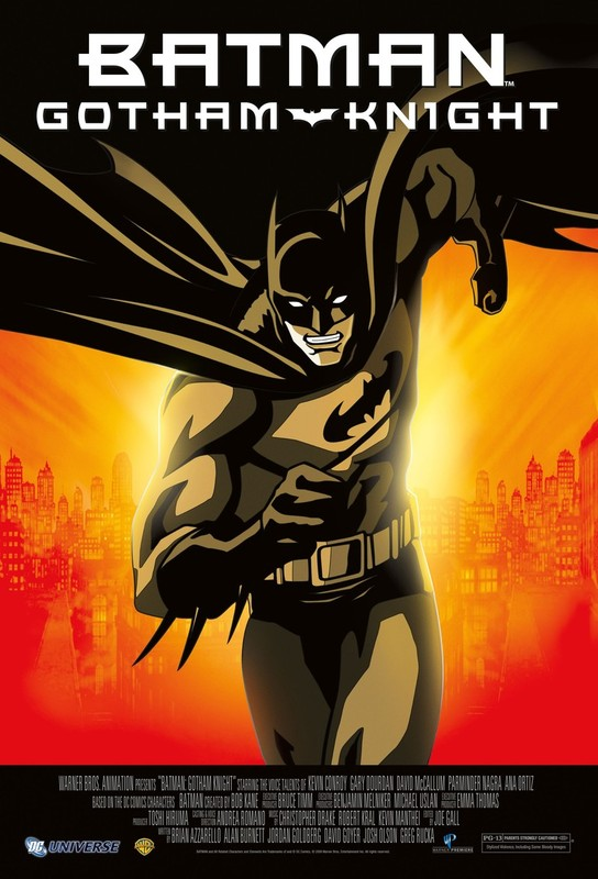 Batman : Gotham Knight on DVD