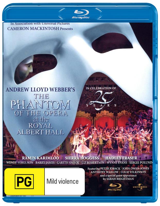 Phantom of the Opera 25th Anniversary Concert on Blu-ray