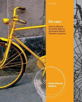 Da capo, International Edition by Annamaria Moneti image