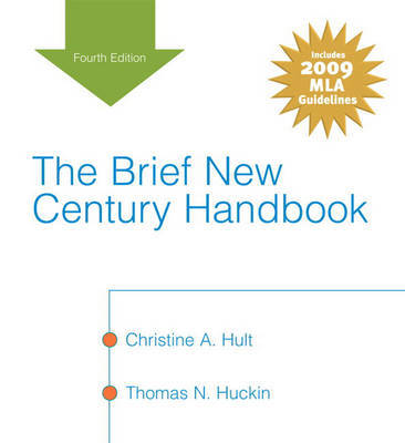 The Brief New Century Handbook by Christine A. Hult image