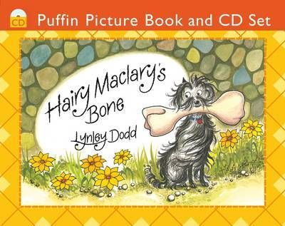 Hairy Maclary's Bone: Book + CD by Lynley Dodd