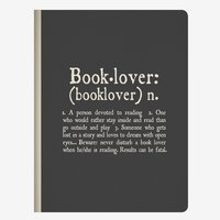 Legami: B5 Lined Notebook - Booklover