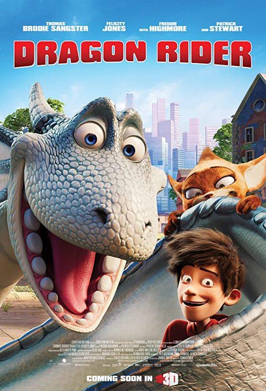 Dragon Rider on DVD