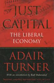 Just Capital by Adair Turner image