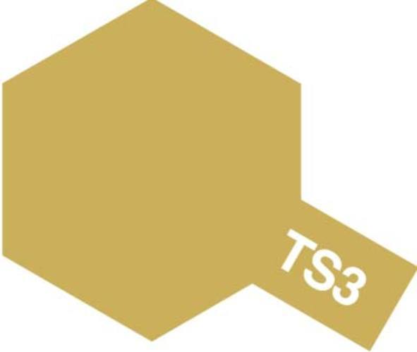 Tamiya TS-3 Dark Yellow - 100ml Spray Can
