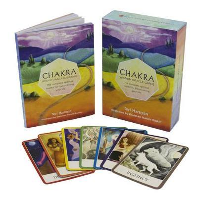 Chakra Wisdom Oracle Cards: The Complete Spiritual Toolkit for Transforming Your Life by Tori Hartman image