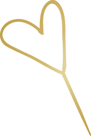 Kaisercraft: K Style Forever Collection Acrylic Cake Topper - Heart