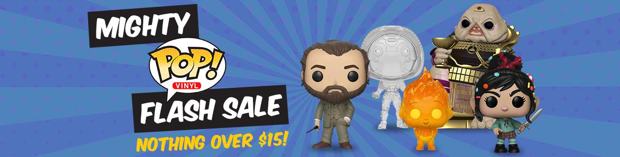 Mighty Pop! Flash Sale!