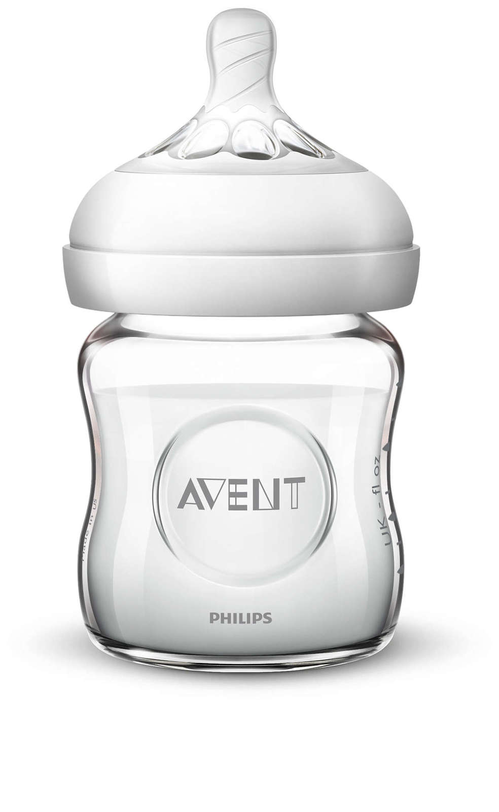 Philips Avent Natural Glass Bottle - 120ml image