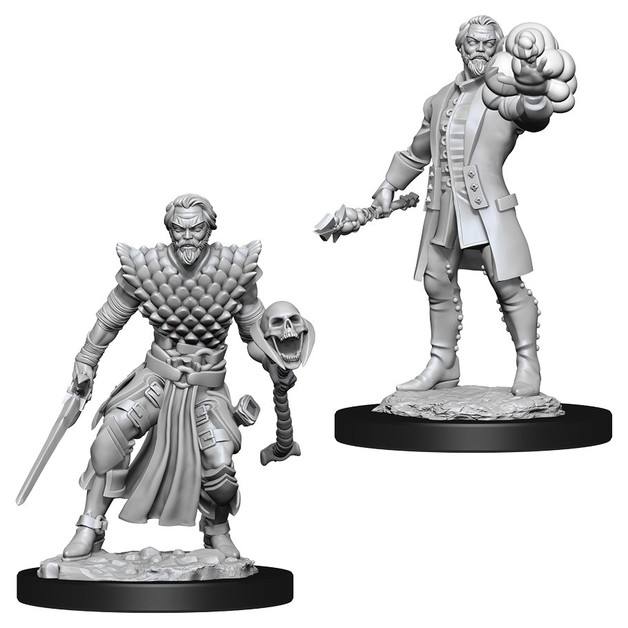 D&D Nolzur's Marvelous: Unpainted Miniatures - Male Human Warlock