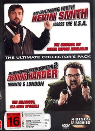 Evening With Kevin Smith Part 1 & 2, An (4 Disc Set) on DVD image