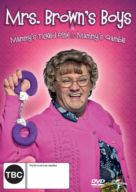 Mrs Browns Boys Christmas on DVD