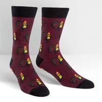 Mens - Sock A Doodle Doo Crew Socks