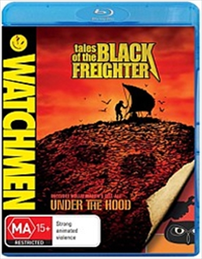 Watchmen Animated: Tales of the Black Freighter & Under the Hood on Blu-ray