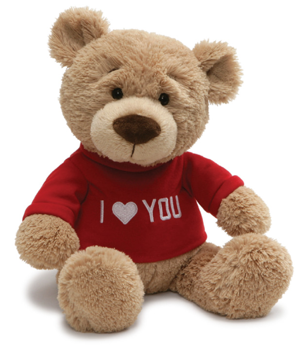 "Gund: I Love You T-Shirt - 13"" Valentines Bear"