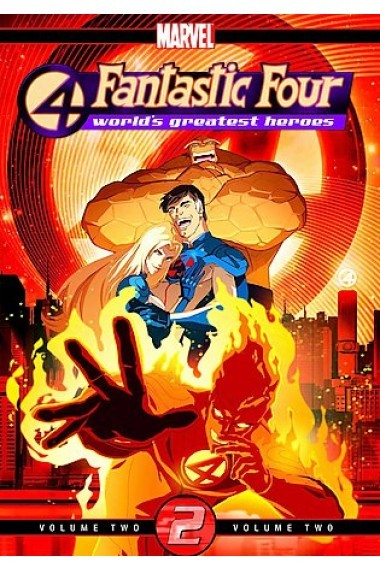 Fantastic Four - World's Greatest Heroes: Vol. 2 on DVD