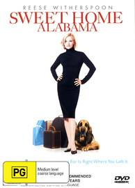 Sweet Home Alabama on DVD image