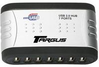 Targus USB 2.0 7-port hub with audio pass through image