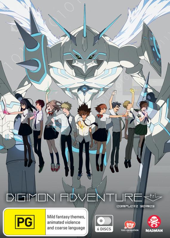 Digimon Adventure Tri Complete Series on DVD