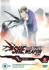 She, The Ultimate Weapon - Vol. 1: Girlfriend on DVD