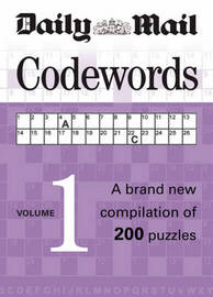 Codewords: A Brand New Compilation of 200 Puzzles: v. 1 by Hamlyn image