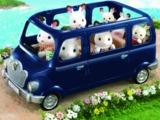 Sylvanian Families - Blue Bell Seven Seater Car