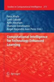 Computational Intelligence for Technology Enhanced Learning image