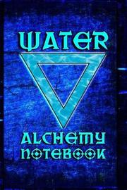 Alchemy Notebook Water by Quillybee Publications