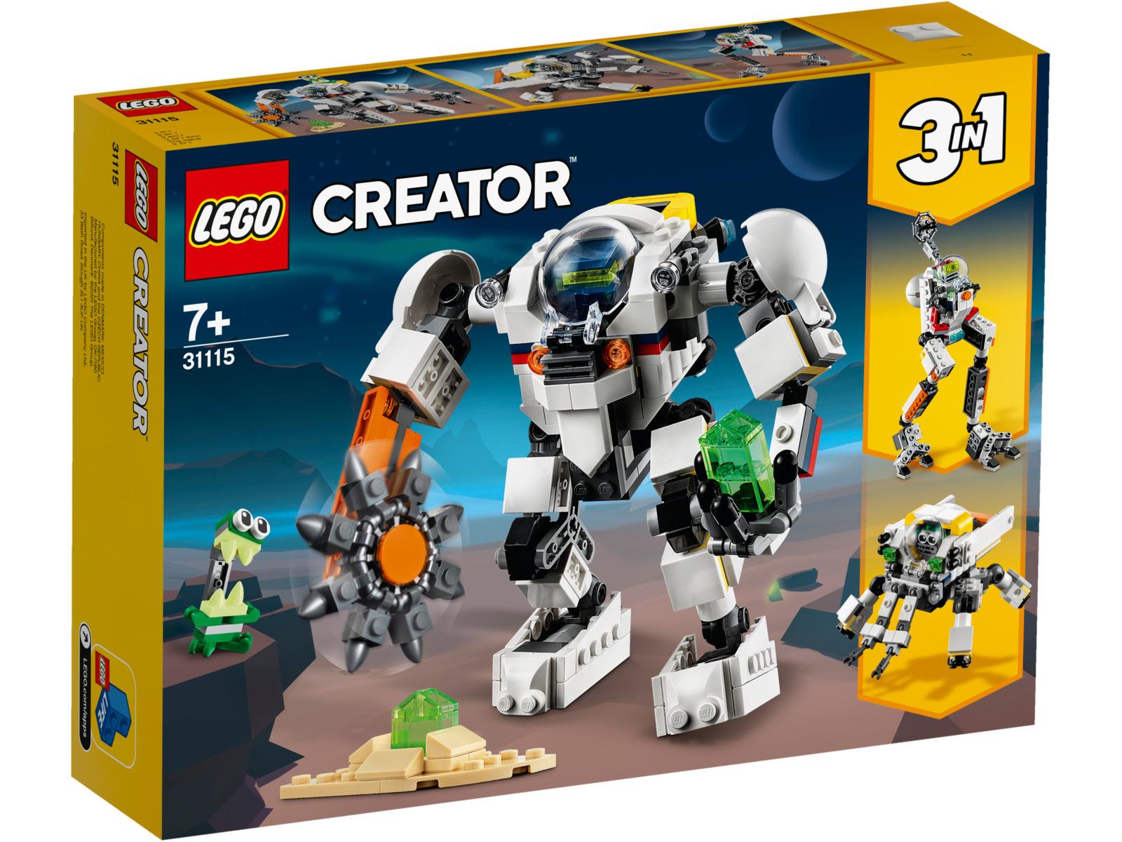 LEGO Creator - Space Mining Mech image