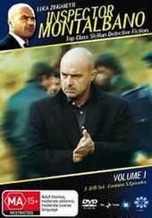 Inspector Montalbano - Vol 1 (3 Disc Set) on DVD