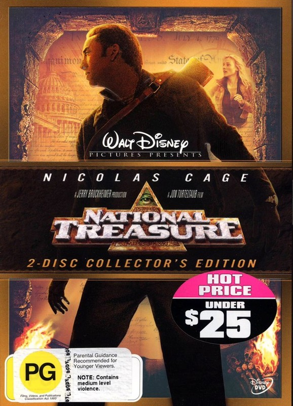 National Treasure - 2-Disc Collector's Edition (2 Disc Set) on DVD