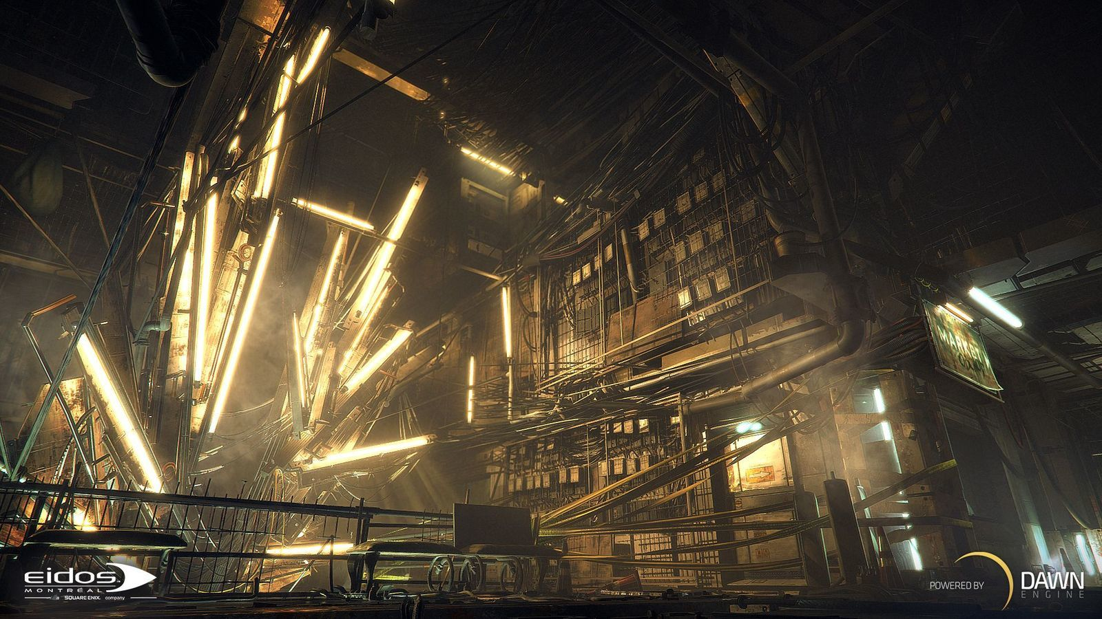 Deus Ex: Mankind Divided Day 1 Edition for PS4 image