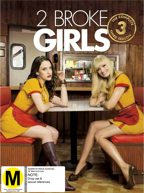 2 Broke Girls - Season 3 on DVD image