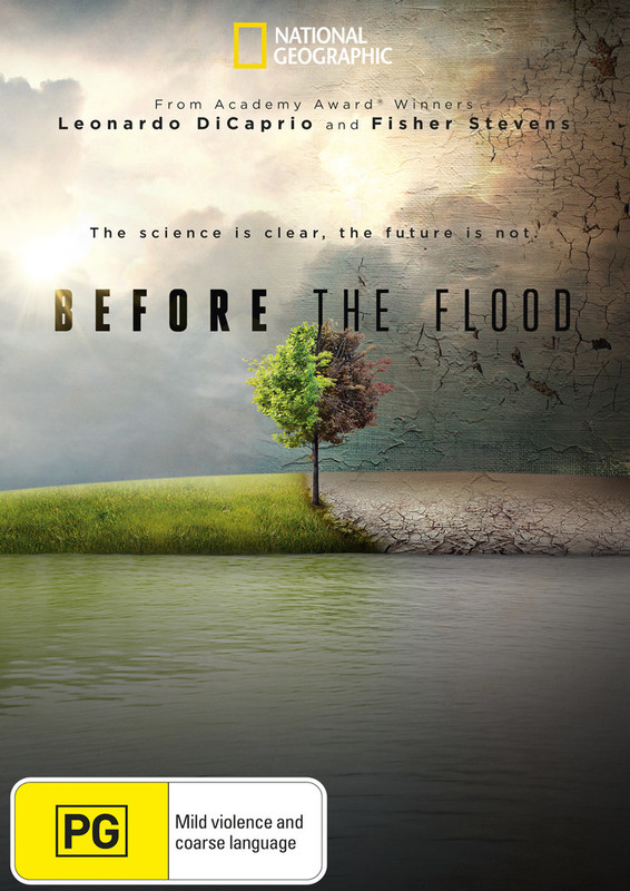 Before the Flood on DVD