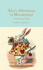 Alice in Wonderland Everlasting Diary by Rosemary Gray image