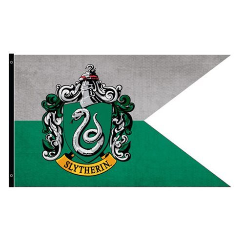 Harry Potter - Slytherin Outdoor Flag