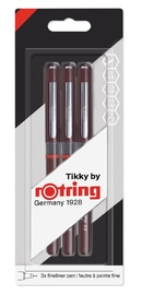Rotring: Tikky Graphic Pigment Liner - Set of 3