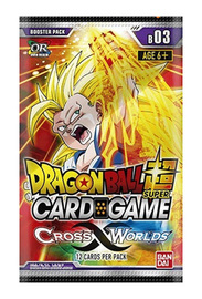 Dragon Ball Super TCG: Cross Worlds Single Booster image