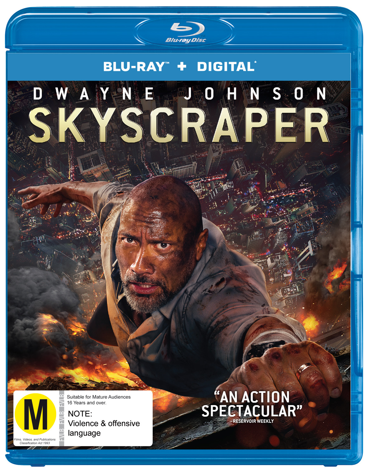 Skyscraper on Blu-ray image