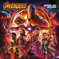 Marvel: Avengers Infinity War 2019 Square Wall Calendar