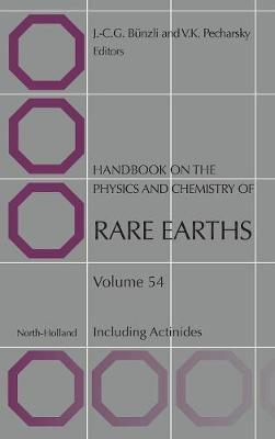Handbook on the Physics and Chemistry of Rare Earths: Volume 54