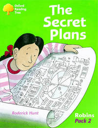 Oxford Reading Tree: Robins Pack 2: The Secret Plans by Roderick Hunt image