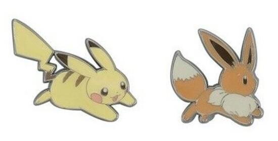 Pokemon: Pins Day 4 (Set of 2)