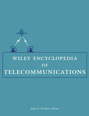 Wiley Encyclopedia of Telecommunications image
