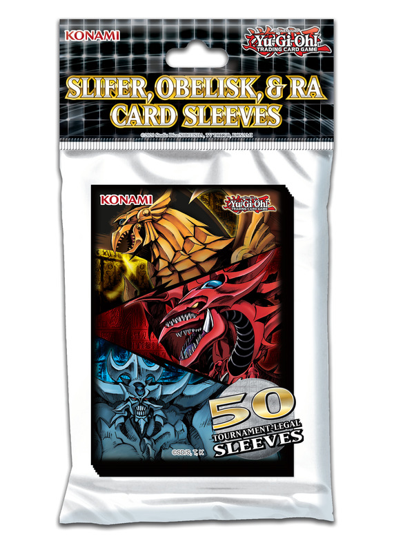 Yu-Gi-Oh! Egyptian God Card Sleeves