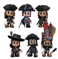 "Pirates of the Caribbean 4 Cosbaby 3"" Vinyl - SET 6"