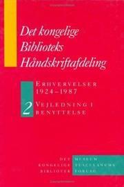 Det Kongelige Biblioteks Handskriftsamling by Birgitte Possing image